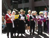 Occupy Protesters Sing 'Contraception Songs'