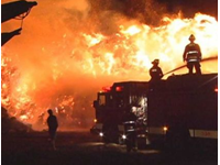 Massive Blaze Overwhelms Ohio Firefighters