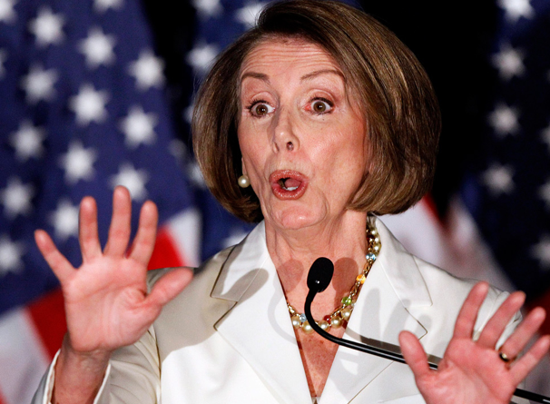 Nancy Pelosi Wears Joe Montana Bracelet, Clueless About His Jersey Number