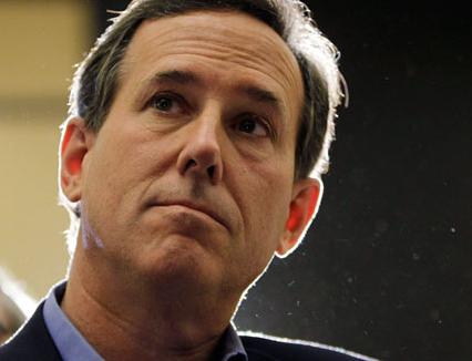 Santorum Slams Romney In Victory Speech