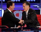 Romney Pulls Attack Ads Against Santorum
