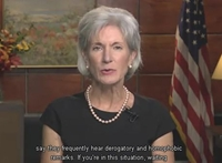 Flashback: Secretary Sebelius Teams With Anti-Christian Bully Savage