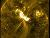 Solar Flares In High Def