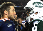 Tebow Arrives In NY Following Trade