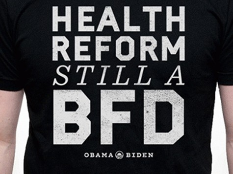 Obama Campaign Selling 'BFD' T-Shirts
