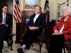 Former President George H.W. Bush Endorses Mitt Romney