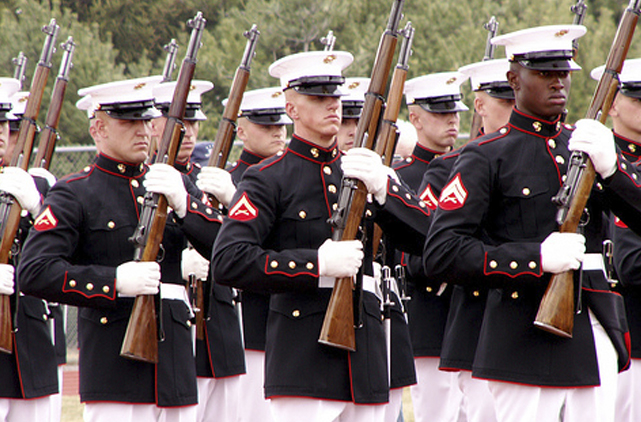 Unprecedented: US Marines Forced To Disarm in a Combat Zone Over Fear For Panetta's Safety