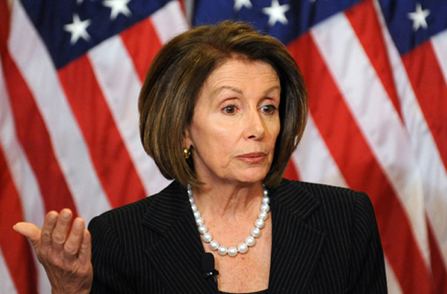 Bipartisan Pelosi Ridicules House Republicans' 'Little King' Jobs Bill