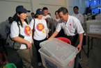 Myanmar Voters Flock To Polls In Landmark Elections