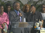 Sharpton Plays To Smaller Than Predicted Crowd At Trayvon Rally