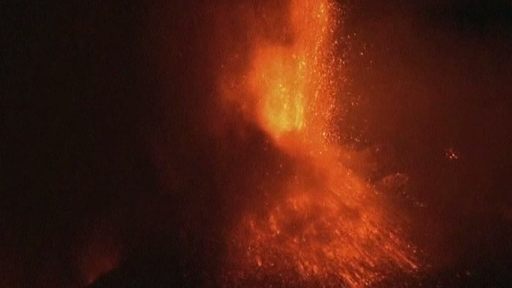 Italian Volcano Blows Its Top
