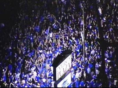 Wildcat Fans 'Celebrate' NCAA Victory