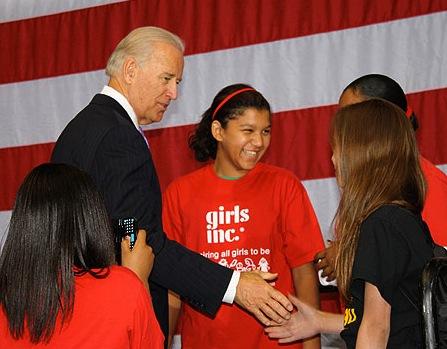 Biden To High School Girls: 'Pregnancy Is Pre-Existing Condition'
