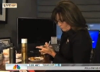 Palin Crashes Lauer's Dressing Room