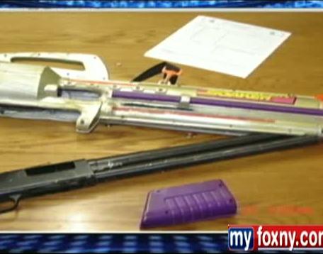 Declassified Records Show Shotgun Disguised As Water Gun