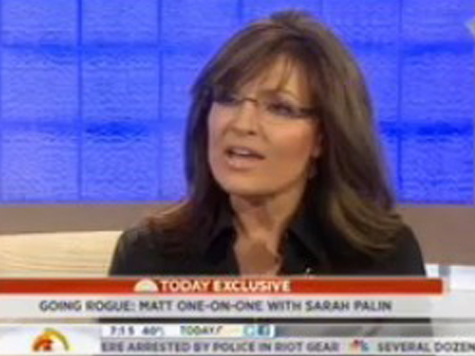 Lauer to Palin: Romney Choose Running Mate With More Experience Than You Had?