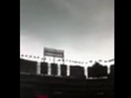 Rangers Player Captures Storm Video From Dugout