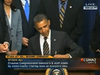 Obama Signs Congressional Insider Trading Ban; Compares To Occupy Wall St Agenda