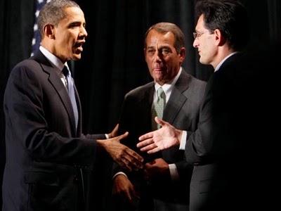 Cantor Praises Obama Bill