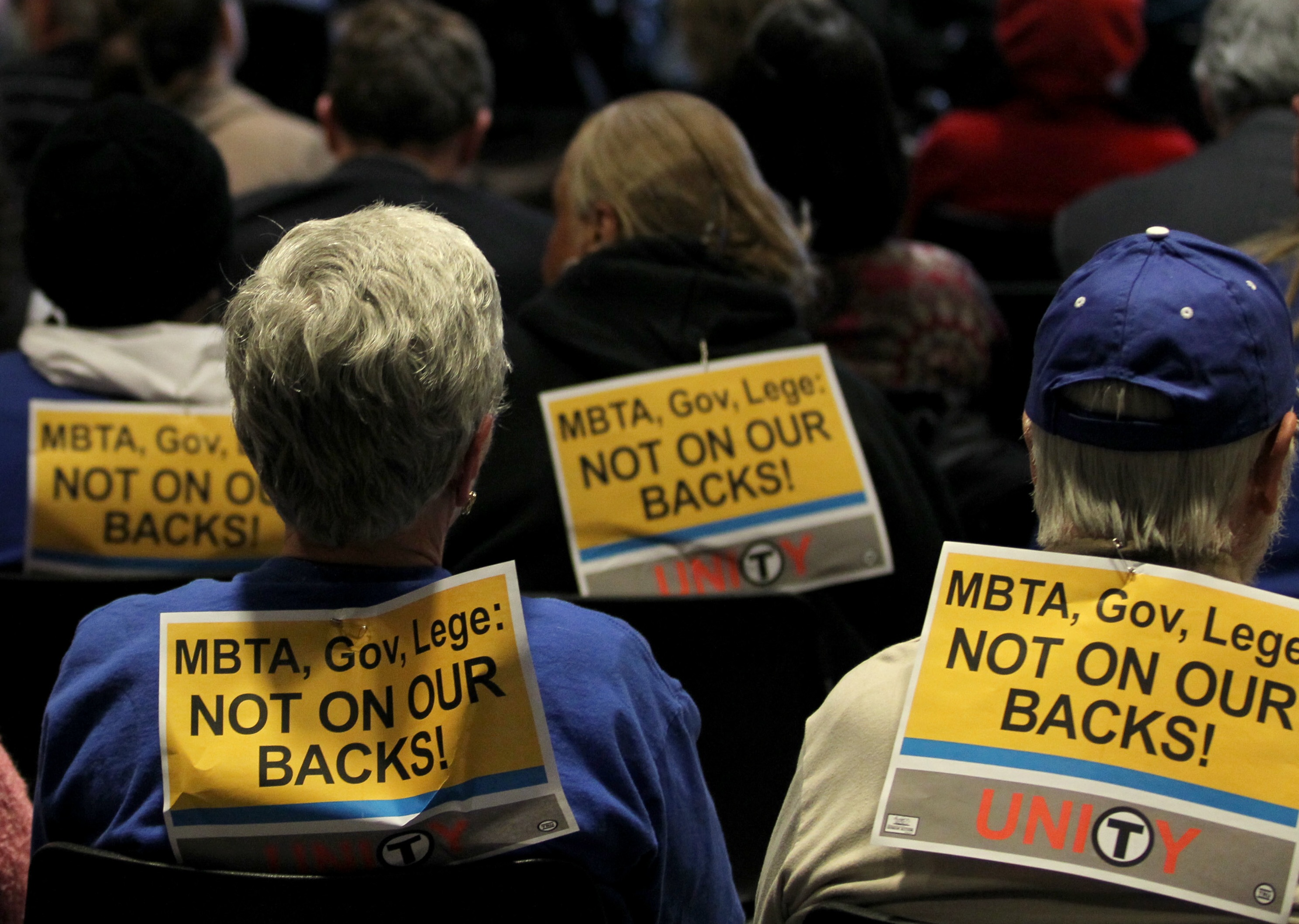 Occupy Boston Stages Protests Against Public Transit System Fares