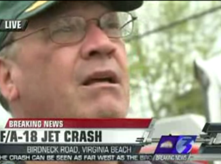Neighbor: Pilot Landed On My Back Porch