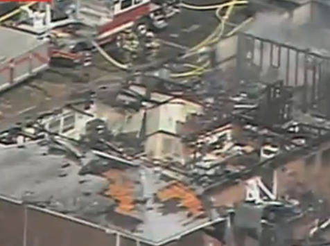 F/A-18 Navy Jet Crashes Into VA Apartment Complex