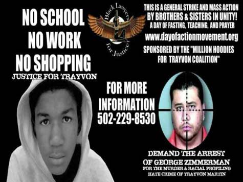 New Black Panthers Call For Race War For Trayvon; April 9th Day of Action