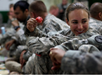 Female Veterans Face Scarce Resources