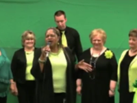 GSA Workers Sing To Obama About 'Going Green'