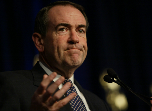 Huckabee Tries To Compete With Limbaugh