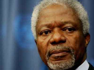 Kofi: 'Disastrous' If Syrias Rebels Armed