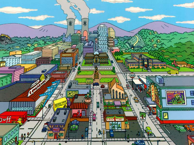 'Simpsons' Creator Reveals The Real Springfield