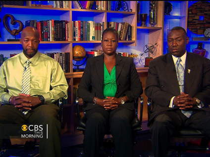 Trayvon's Parents: Public Pressure Made Prosecutor 'Look Twice'