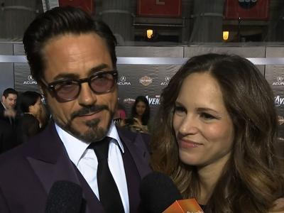 'The Avengers' Come Together On The Red Carpet