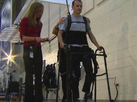 Robot Helps Paralyzed Patients Walk Again