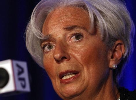 IMF Chief: Europe Still A Threat
