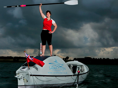 British Woman Attempts To Row Solo Across Pacific