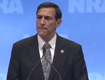 WATCH: Darrell Issa Slams Obama Administration In NRA Speech