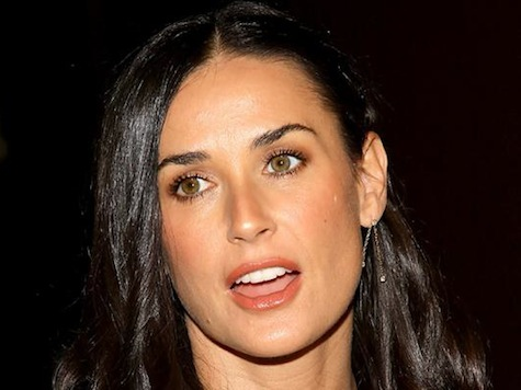 Demi Moore Steps Out First Time Since Rehab