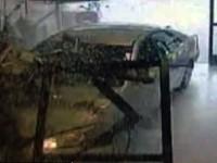 Car Crashes Into Super Market