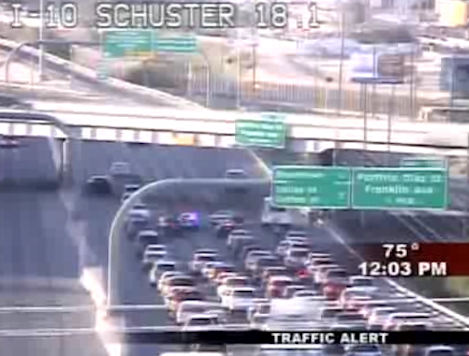 Man Tazed, Tackled On LA Freeway In Traffic