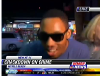Man Shoves Reporter, Screams 'N' Word On Live TV
