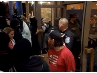 Occupy Thugs Storm IMF Meeting: 'F**k The Police From Oakland To Greece'
