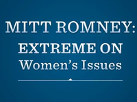 Obama Ad Doubles Down Campaign Meme, Calls Romney 'Extreme' On Women's Issues