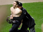 Umpire Tackles Streaker At Orioles Game