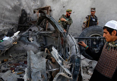 Taliban Claims Responsibility For Coordinated Explosions In Afghan Capital