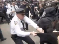 NYPD Scuffles With #Occupy Resisting Arrest