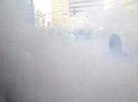 Tear Gas In Oakland