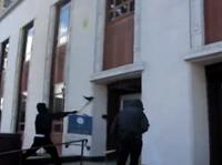 OCCUPIERS SMASH WINDOWS IN SEATTLE