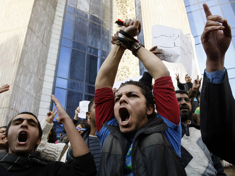 Demonstrators Clash With Police In Egypt